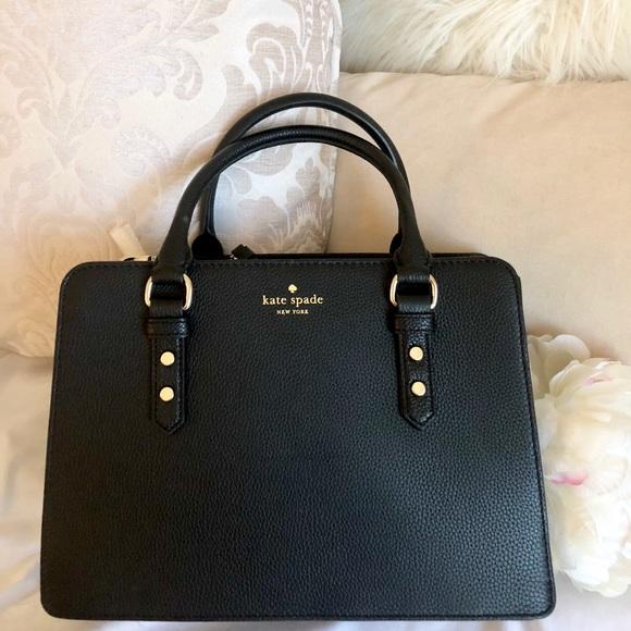 kate spade Handbags - 💕SALE💕Kate Spade♤ NWT Black Crossbody Bag b98341cb8e